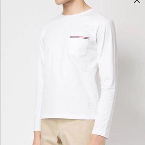 Thom browne long sleeve tshirt